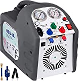 VEVOR Refrigerant Recovery Machine Portable 1/2HP AC Recovery Machine Automotive HVAC 558psi Refrigerant Recovery Unit Air Conditioning Repair Tool (115V)