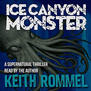 Ice Canyon Monster audiobook cover art