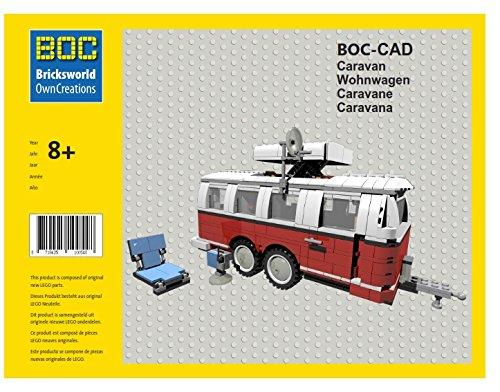 LEGO BOC-CAD Wohnwagen Doppelachser Zubehör 10220 T1 Bus