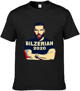 Dan Bilzerian 2020 Men's Pure Cotton T-Shirt,Spring/Summer T-Shirt high Stretch Fabric Moisture Absorption and Ventilation