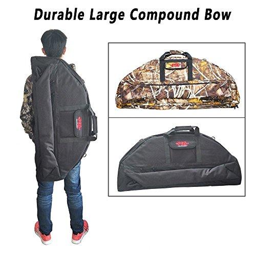 WEREWOLVES Compoundbogen Fall Bogenschießen Durable Canvas Bag (Large, Black)
