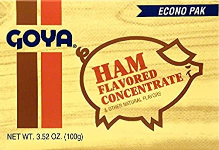 Goya Ham Flavor Concentrate, 20-count 3.52-Ounce Packets (Pack of 6