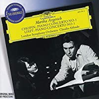 Chopin, Liszt: Piano Concertos / Martha Argerich, London Symphony Orchestra by ARGERICH / LONDON SYM ORCH / ABBADO (1996-09-17)