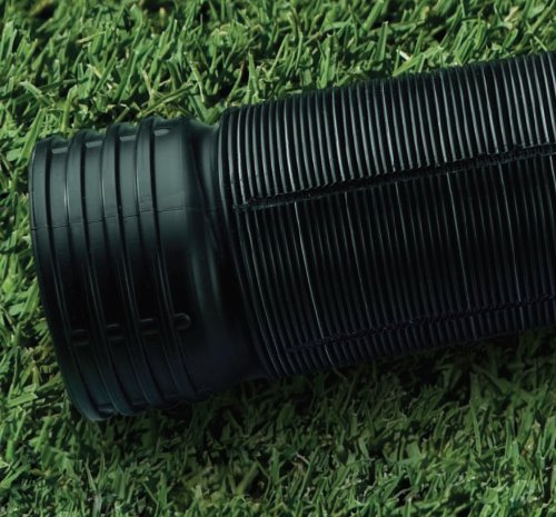 Flex-Drain 51910 Flexible/Expandable Landscaping Drain Pipe, Perforated, 4-Inch by 12-Feet