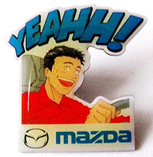 Mazda - Yeahh! - Pin 30 x 28 mm