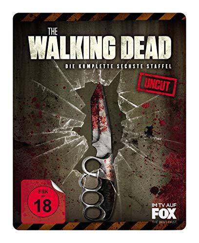 The Walking Dead - Staffel 6 (Uncut Limited Weapon Steelbook Edition) [Blu-ray]