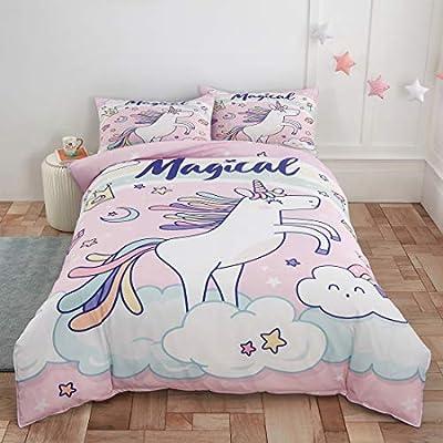 Unicorn Bedding Duvet Cover Comforter Set Twin ...