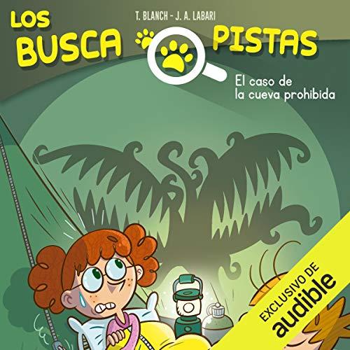 Diseño de la portada del título Buscapistas: El Caso De La Cueva Prohibida