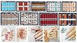 Olanari Glamour-Glitzer, Nagelfolie, Nagelsticker, Nail Wrap, Nail sticker