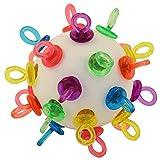 Parrot Essentials 720014 Super Binkies Wiffle Ball Papageien Spielzeug, Groß, 240 g