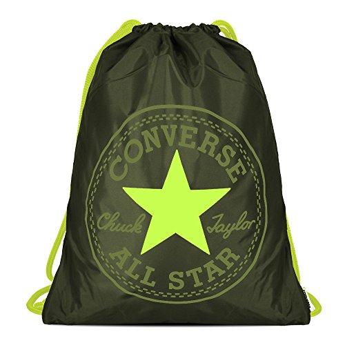 Converse Unisex Turnbeutel Cinch Bag Collard Bolt Green (grün)