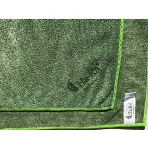 Ha-Ra Star doek groen outdoor 38 x 38 cm HR specialist voor het reinigen van gelakte tuinstoelen, glazen tafels, grilloppervlakken, gepolijste natuursteen, vensterbanken enz. Droogt streepvrij af!