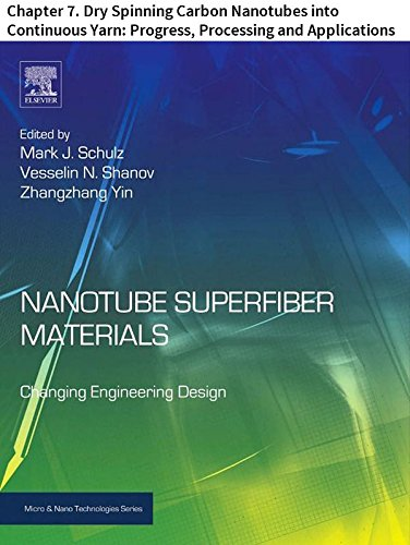 Nanotube Superfiber Materials: Chapter 7. Dry Spinning Carbon ...