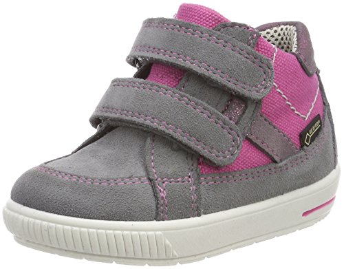 Superfit Mädchen Moppy_Surround Sneaker, Blau (Smoke Multi), 20 EU