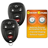 Discount Keyless Replacement Key Fob Car Keyless Entry Remote For Allure Lacrosse Chevy Co...