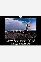 New Zealand 2016 - A bike adventure 2016: Photos of a bike adventure through the North and South Island of New Zealand (Calvendo Places) Calendar