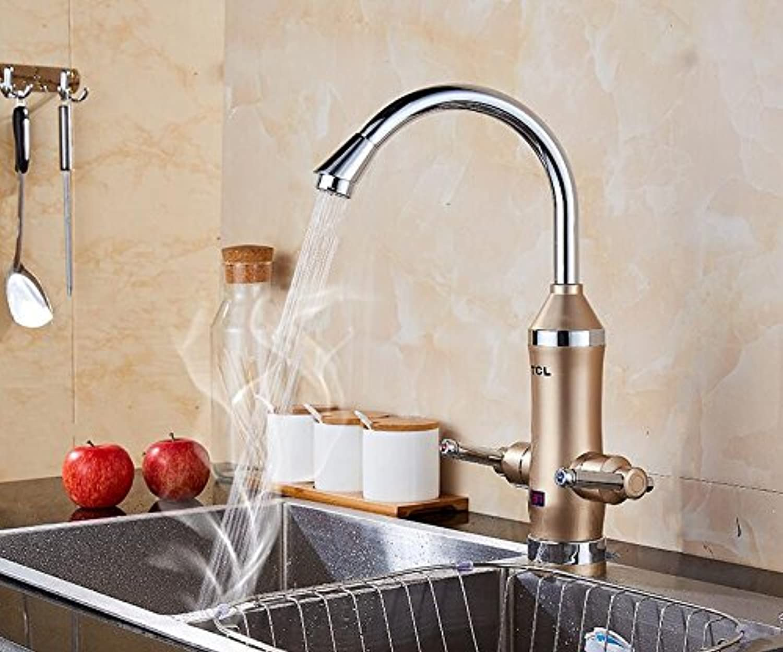 Mangeoo Elektrische Warmwasserbereiter, Küche, warmes, heies Wasser, Warmwasser, Heizung mit zwei Hnden