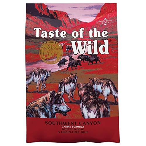 Grain Free Adult Dry Dog Food Balanced Complete Natural Southwest Canyon (5.6kg bag)
