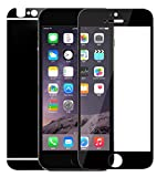 Dreams Mall(TM) Apple iPhone 6Plus/6S Plus,Electroplating Mirror Effect Tempered Glass Screen Protector Film Decal Skin Sticker Front & Back
