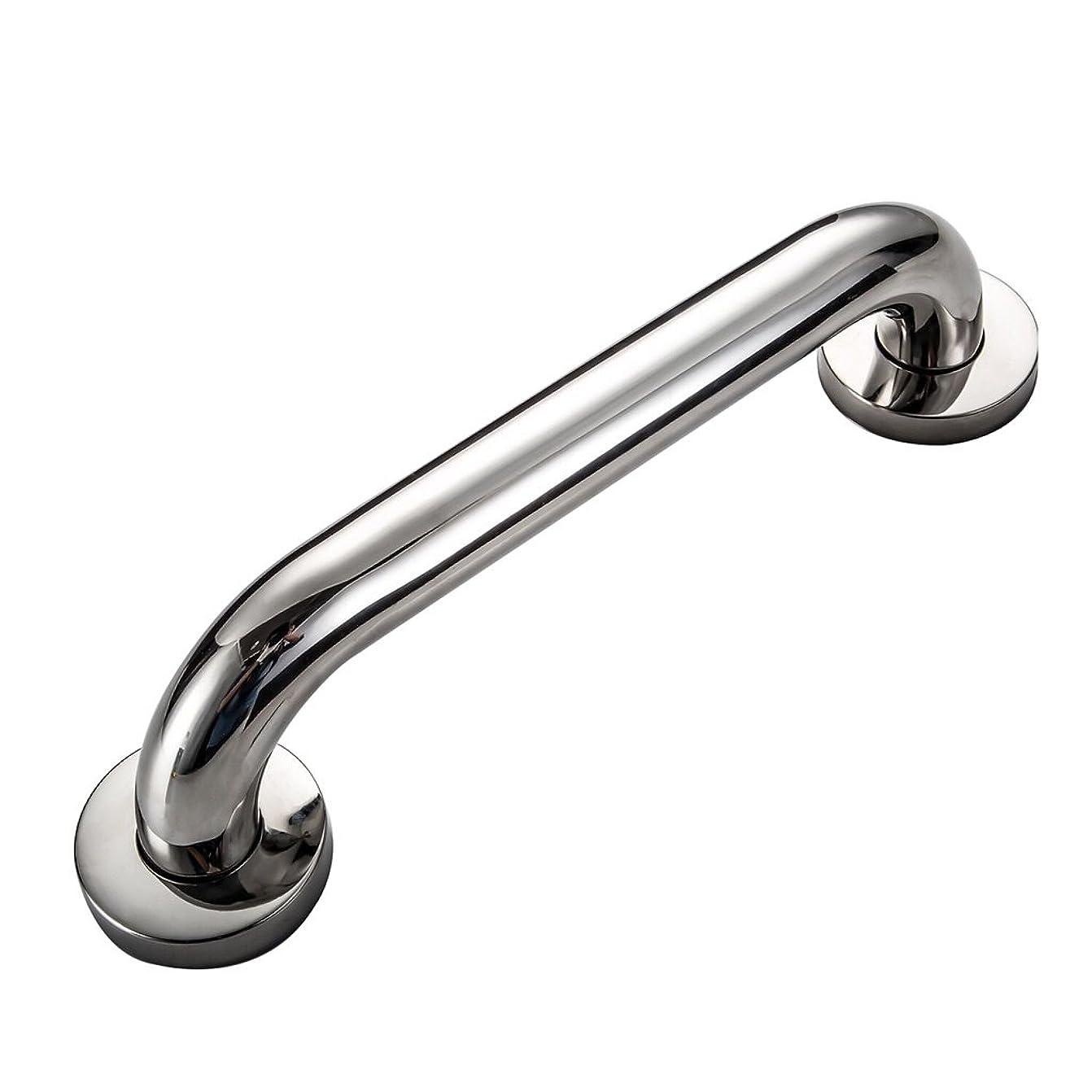 モルヒネ国歌保証安全304 Dステンレス鋼手すりバスタブ手すり高齢者浴室ハンドル浴室トイレ手すり (Color : 40CM)