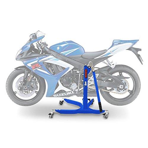 ConStands Power Classic-Zentralständer Suzuki GSX-R 750 06-07 Blau Motorrad Aufbockständer Heber Montageständer