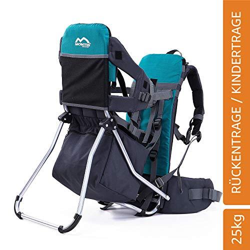 Montis Runner One Kindertragerucksack bis 25kg Gewicht - die Einstiegs Kraxe/Kindertrage...