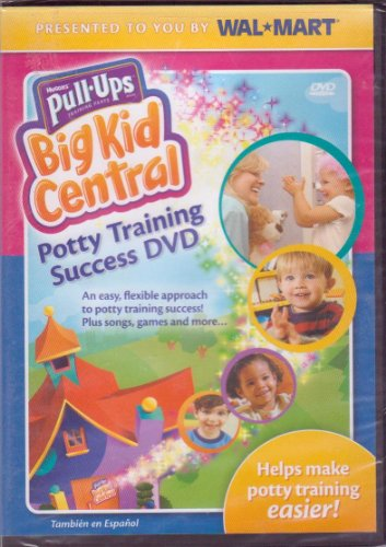 Potty Training Success DVD - Big Kid Central (English and Spanish)