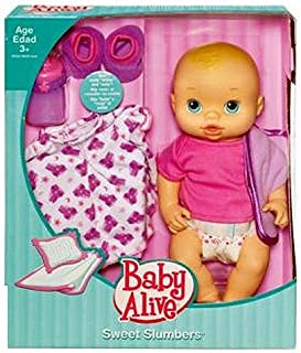 Baby Alive Sweet Slumbers Doll with Accessories