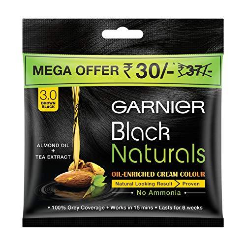 Garnier Black Naturals hair Color, Shade-3 Brown Black +Rs 7 Off