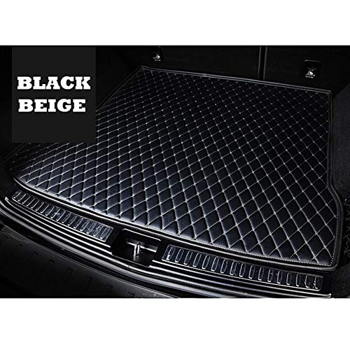 ROYAL STAR TY Costumbre Maletero del Coche Mat for Peugeot 307 SW 308 407 508 Sw RCZ 2008 3008 4008 206 5008 408 107 301 Todos los Modelos de alfombras de Coche (Color Name : All Black)