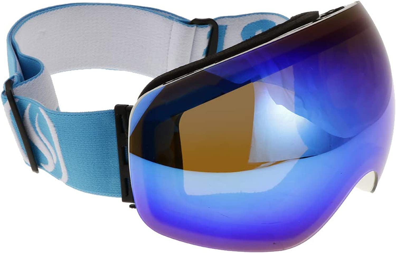 Baosity Ski Goggles Winter Snow Sports Anti Fog Dual Lens UV Predection Eyewear Mask for Men & Women