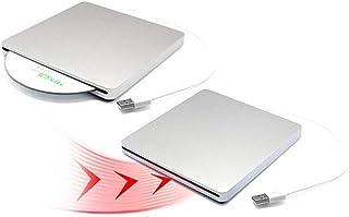 MUMUWU USB DVD Drives Optical Drive External DVD RW Burner Writer Recorder Slot Load CD ROM Player
