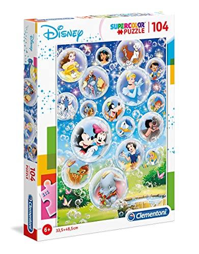 Clementoni Puzzle 104 Piezas Disney Classic, Multicolor (27119.1)