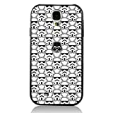 Deal Market LLC -Star Wars Darth Vader Storm Trooper Han Solo Yoda R2D2 Jedi -Hard Rubber Case for Samsung Galaxy S5, Made in The USA & Delivered in 8 Days. Includes Screen Protector.Style 91