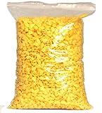 100% reine Bienenwachs Pastillen gelb zur Herstellung von Kerzen, Seife, Kosmetik und Salben in...