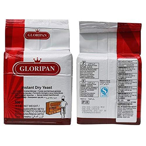 Bäckerhefe, 500 G/1000 G/bustina lievito, attivo istantaneo di lievito ad alta tolleranza di glucosio, accessori da cucina per la casa
