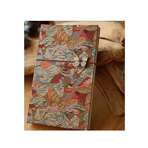 ZTMN fotoalbum, traditioneel fotoalbum, handgemaakt plakalbum, tijdboom, eerste sneeuw (Editie : 7)