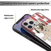 iphone12ケース iphone12miniケース ドッグ パグ iphone12Proケース iphone12ProMaxケース ガラス製電話ケース スマホケース 携帯カバー TPUソフトシェル スマホカバー 手帳型 互換性のある 兼用カバー アイフォン12カバー