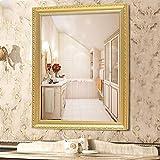 LXYFMS Espejo de baño para Montar en la Pared, Espejo de Lavabo para Montar en la Pared