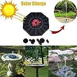 Hotsellhome New Outdoor Solar Powered Bird Bath Water Fountain Pump Sprinkler For Pool Garden Aquarium