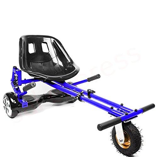 """2020 Suspension HoverKart para Hoverboards, accesorios con neumáticos todoterreno delanteros - Compatible con patineta de dos ruedas de 6.5 """"8"""" y 10 pulgadas con auto equilibrio (Rosa)"""