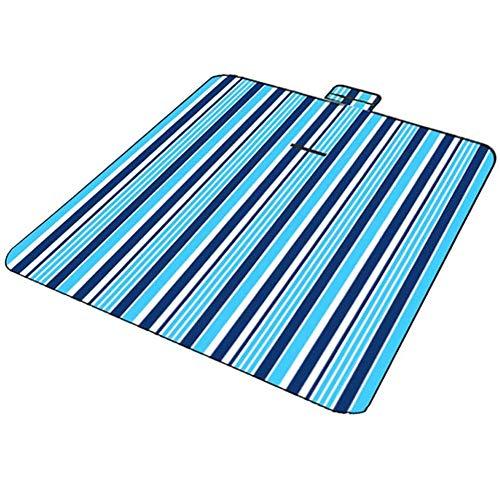 ZHANGXJ Ligero Manta de Picnic Alfombra de Playa Manta para Playa Extra Grande Camping Plegable Impermeable con Fácil Llevar 150 * 200cm Exterior (Color : 1)