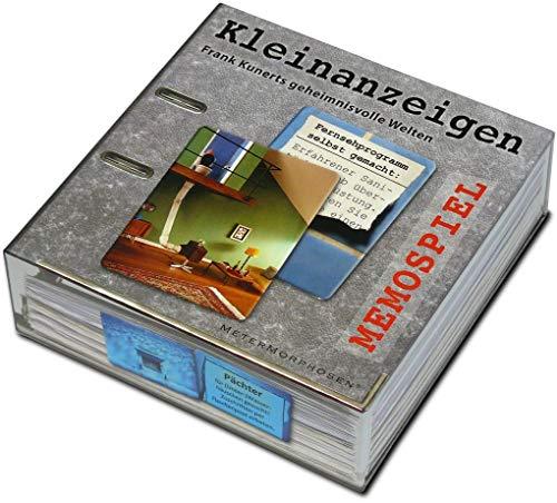 Unbekannt MeterMorphosen MET00782 Kleinanzeigen-Frank Kunerts geheimnisvolle Welten als Memospiel, Mehrfarbig