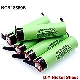 ndegdgswg Il Nuovo Pezzo di Nichel Fai da Te Ncr18650b 3.7 v 3400mah 18650 Batteria Ricaricabile al Litio di Alta qualità 10PCS