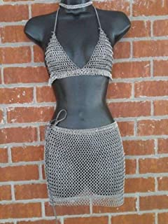 chainmail armor skirt