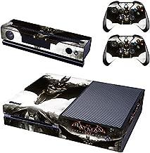 REYTID Batman Knight Xbox One Console Skin/Sticker + 2 x Controller Decals & Kinect Wrap - Full Set - Microsoft XB1