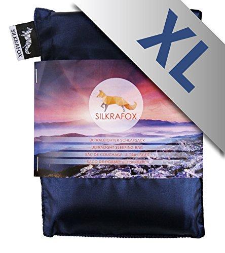 Silkrafox XL - Saco Dormir Ultraligero Las excursiones