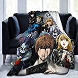 Anime Death Note Soft and Comfortable Blankets,Ultra-Soft Micro Fleece Blanket,for Bed Or Sofa,All Season Quality Blankets