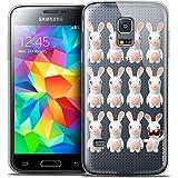 Carcasa para Samsung Galaxy S5, Ultrafina, diseño de Conejos cretins Im Ready Pattern