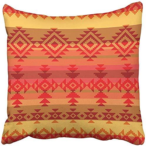 SSHELEY Dekokissenbezüge CasesNative Traditional American Style Mexikanisch Mexiko Ethnisch Navajo Peru Kissenbezüge Kissenbezug